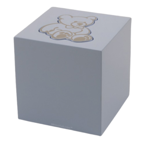 Infant and children urns are available in a number of styles and materials