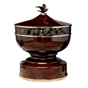 Bronze Cremation urns are carefully crafted and elegant center pieces