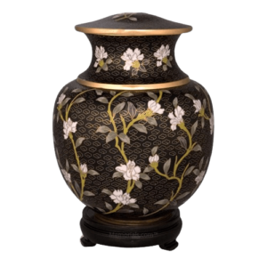 A cloisonne urn will pay a lasting tribute to the person it memorializes
