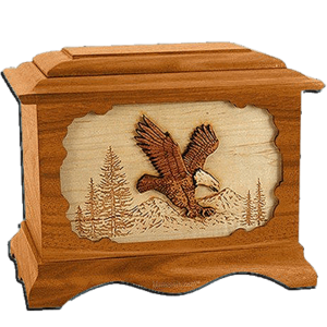 Eagle cremation urns capture the majestic qualities of nature