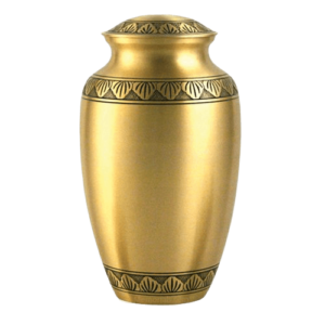 Funerary urns offer a way to create a stunning centerpiece both during and after a memorial service