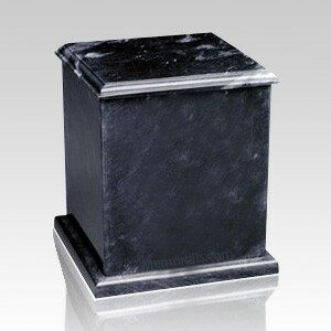Marble urns protect the precious contents within for all eternity