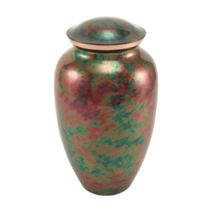 Metal urns can be crafted into an unlimited number of shapes and designs