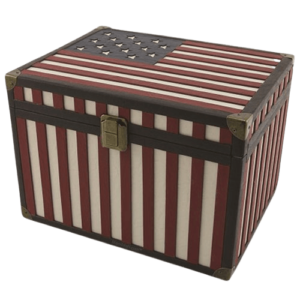 Military Cremation urns offer an extra special way to memorialize an American hero or patriotic individual