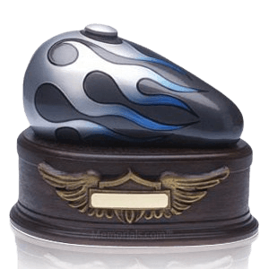 Motorcycle urns offer a perfect way to honor those who loved life on the road