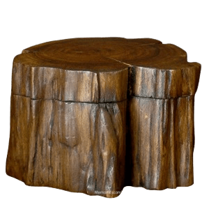 Nature urns can be created from biodegradable or even re-purposed materials